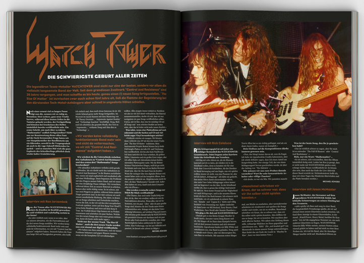 Watchtower Interview